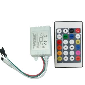 IR RGB ovládanie 24 tlačidlové 72W WS2811