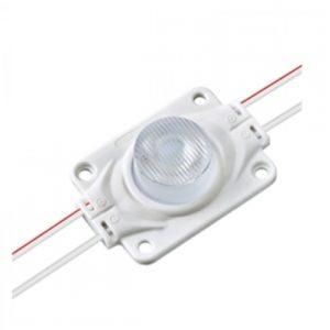 LED Modul SAMSUNG 2.9W/260lm, so šošovkou, studená biela