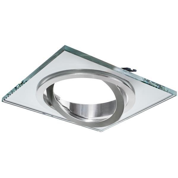 Sklenené bodové svietidlo GLASSO-K-S-111 AR111, ES111, QR111, priehľadné