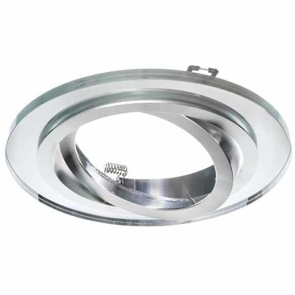 Sklenené bodové svietidlo GLASSO-O-S-111 AR111, ES111, QR111, priehľadné