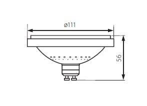 LED žiarovka ES111