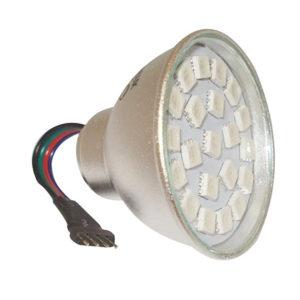 Smievateľná Úsporná LED žiarovka
