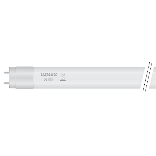 LED trubica T8/10W/100lm 60cm, V1 jednostranná, sklenená, neutrálna biela