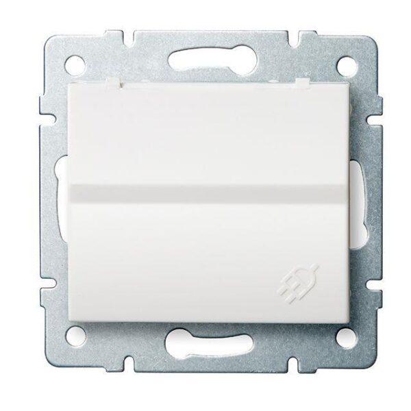 Elektrická zásuvka, Kenlux, biela