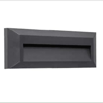 Nástenné vonkajšie svietidlo ASTON 2.8W/160lm, čierne, neutrálna biela