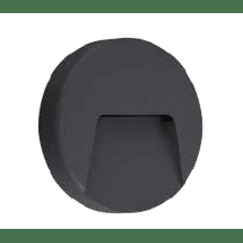 Nástenné vonkajšie svietidlo ASTON 3W/110lm, čierne, neutrálna biela