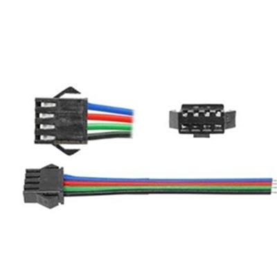 Rýchlospojka pre RGB LED pás samica+samec, 4 žilová