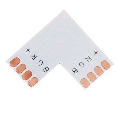 Rohová spojka pre RGB LED pás