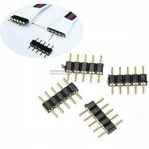 Konektor RGBW 12mm 5-pin