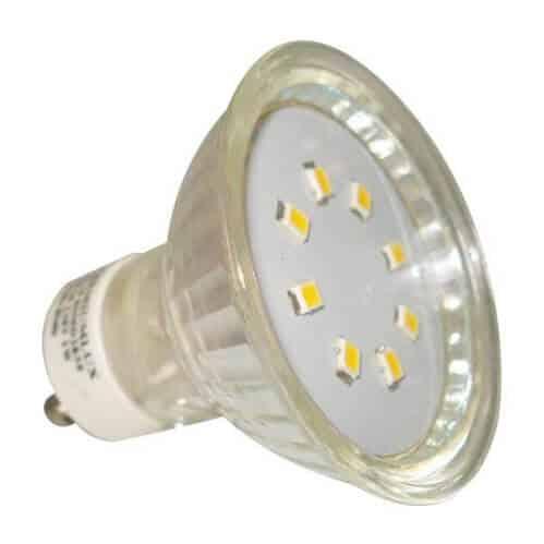 LED žiarovka GU10/1W/90lm, 120°, studená