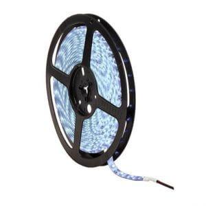 LED pás, 12V, 4.8W/m, 60LED/m, 300Lm/m, IP65, studená biela