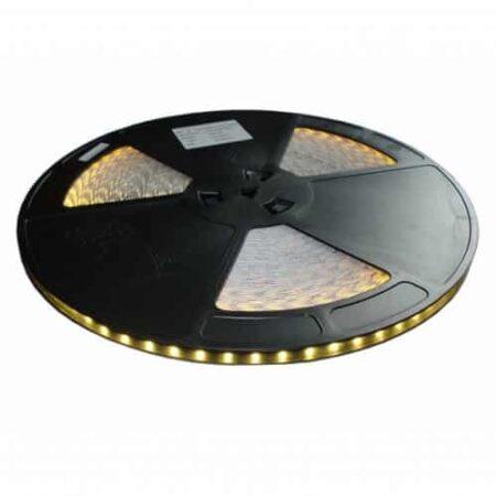 LED pás, 12V, 14.4W/m, 60LED/m, 960Lm/m, IP65, teplá biela