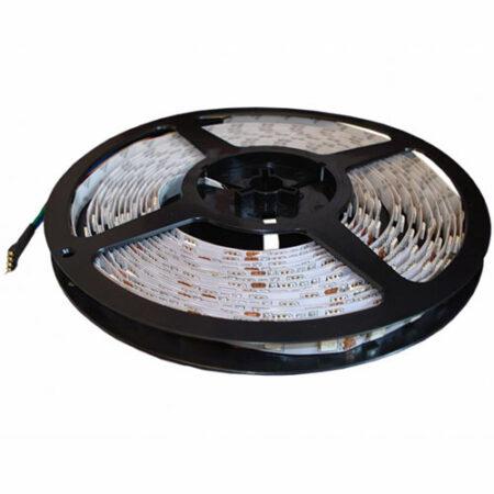 RGB LED pás, 12V, 14.4W/m, 60LED/m, 960Lm/m, IP20,