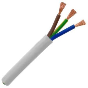 Kábel 3-žilový, 3 x 2.50mm2 1m