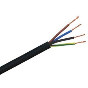 Kábel 4-žilový RGB 4x0.20mm2 pre napájanie LED pásov 1m