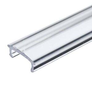 Transparentná krytka pre LED profil, 1m