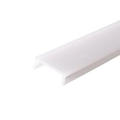 Mliečna krytka pre LED profil, 1m