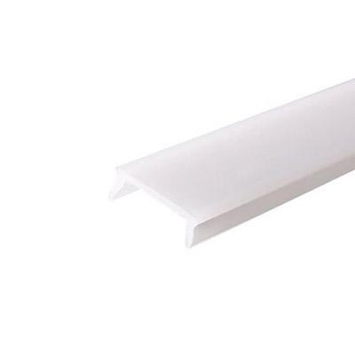 Krytka pre zapustený LED profil Linea, mliečna 2m