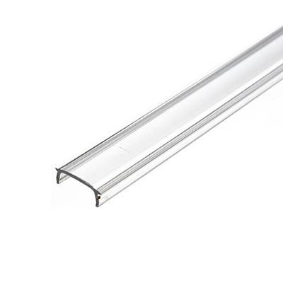 Krytka pre LED profil Minilux, transparentná 1m