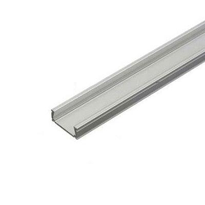 LED profil Minilux bez krytky, anodizovaný hliník 1m
