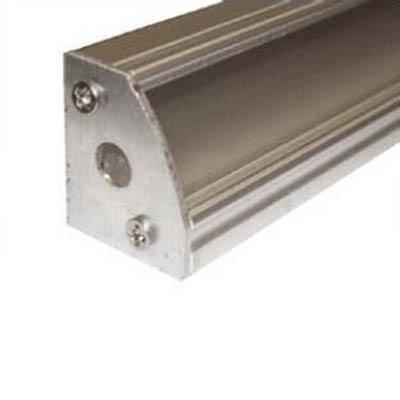 Koncovka pre rohový profil MiniLUX - anodizovana