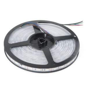 LED pás, 12V, 6W/m, 60LED/m, 360Lm/m, IP65, studená biela