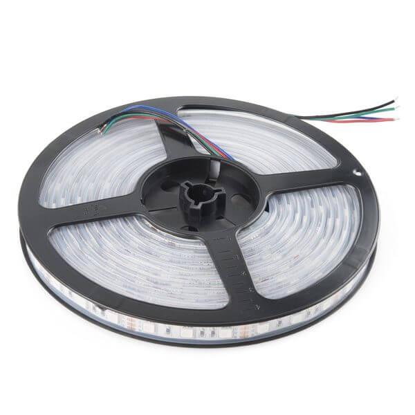 LED pás, 12V, 4.8W/m, 60LED/m, 410Lm/m, IP20, neutrálna biela