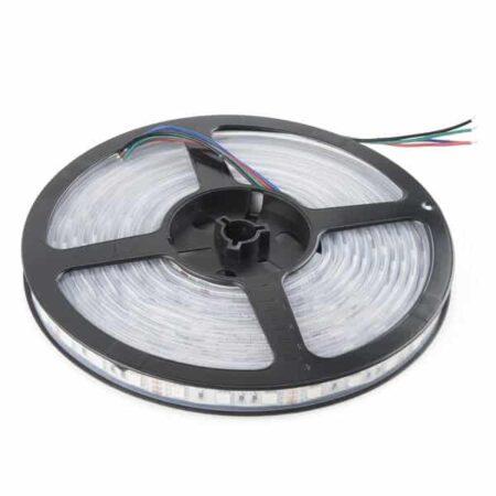 LED pás, 12V, 4.8W/m, 60LED/m, 400Lm/m, IP65, teplá biela