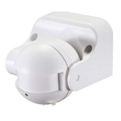 Senzor pohybu IP44, 230V, biely