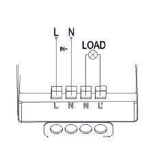Stropný PIR senzor pohybu 220-240V AC