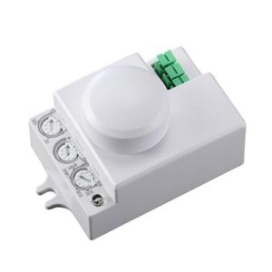 Mikrovlnný pohybový senzor 230V,