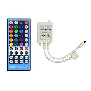 IR diaľkový ovládač pre RGWB LED 96W / 44 tlačidiel