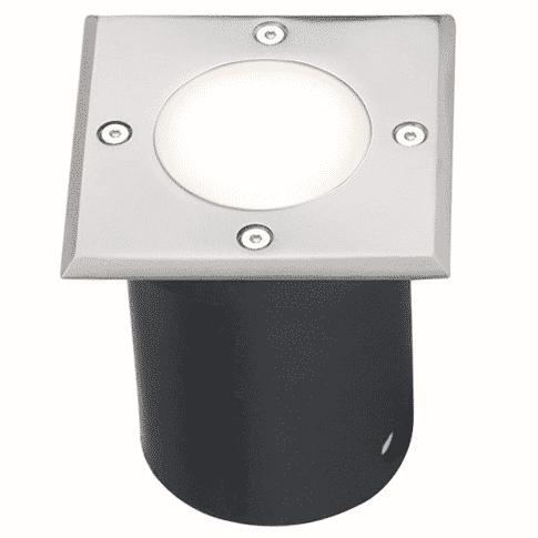Nájazdové vonkajšie svietidlo do dlažby STRONG-K, 1xGU10, IP67, matný chróm