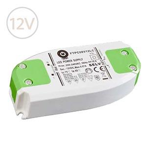Nábytkový LED napájací zdroj 12V / 8W / SLIM