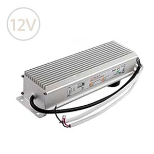 Vodeodolný napájací zdroj pre LED pásy 12V / 150W / 12.5A