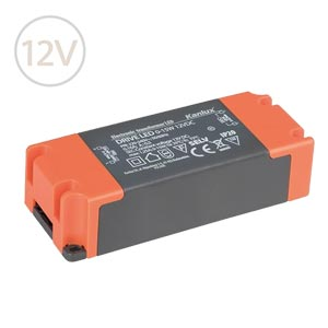 Prachuvzdorný napájací zdroj pre LED pásy 12V / 15W / IP20
