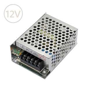 Prachuvzdorný napájací zdroj pre LED pásy 12V / 25W / IP20