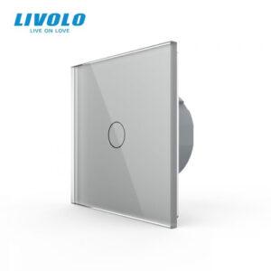 LIVOLO VL-C701-15 Dotykový vypínač č.1│Strieborný