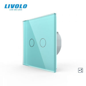 LIVOLO VL-C702S-18 Dotykový vypínač č.5B - Zelený