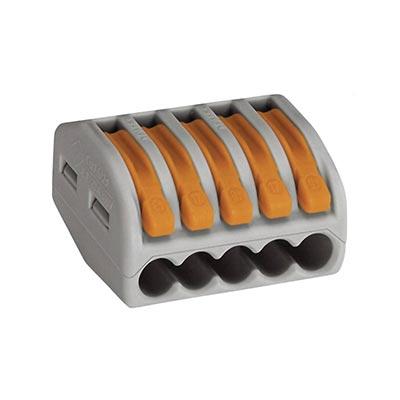 Krabicová svorkovnica WAGO 222, 5x0.08-4mm²
