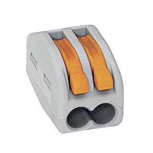 Krabicová svorkovnica WAGO 222, 2x0.08-4mm²