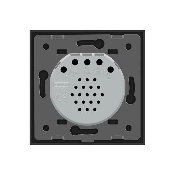 LIVOLO VL-C701-12 Dotykový vypínač č.1 čierny