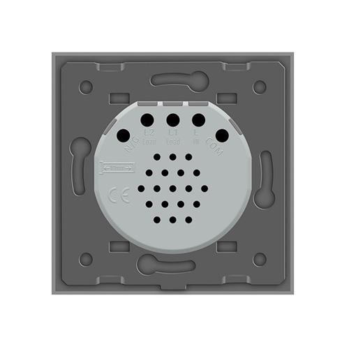 LIVOLO VL-C701-15 Dotykový vypínač č.1 – strieborný