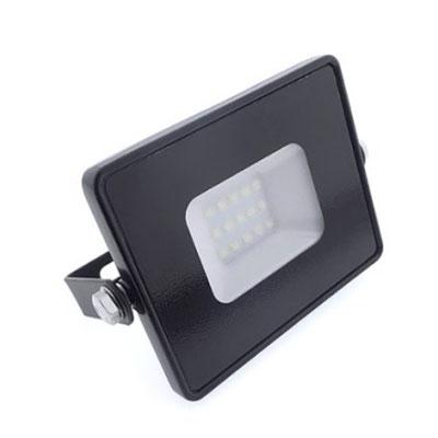 SLIM LED reflektor 10W / 800lm / Studená biela
