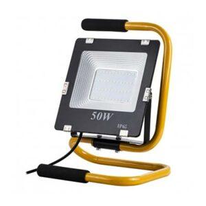 Prenosný LED reflektor 50W, 3500lm, neutrálna biela