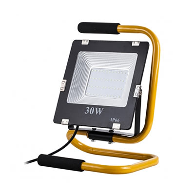 Prenosný LED reflektor 30W, 2100lm, neutrálna biela
