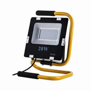 Prenosný LED reflektor 20W, 1400lm, neutrálna biela