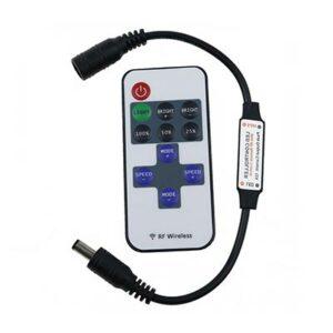 RF diaľkový ovládač pre RGB LED pásy 72W / 6A / 11 tlačidiel