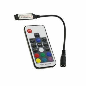 RF diaľkový ovládač pre RGB LED pásy 72W / 6A / 17 tlačidiel