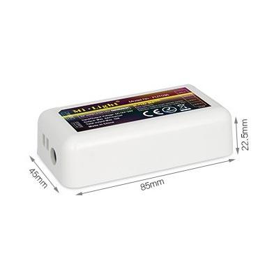 RF prijímač pre RGB LED pásy, 4 pásmový, 10A